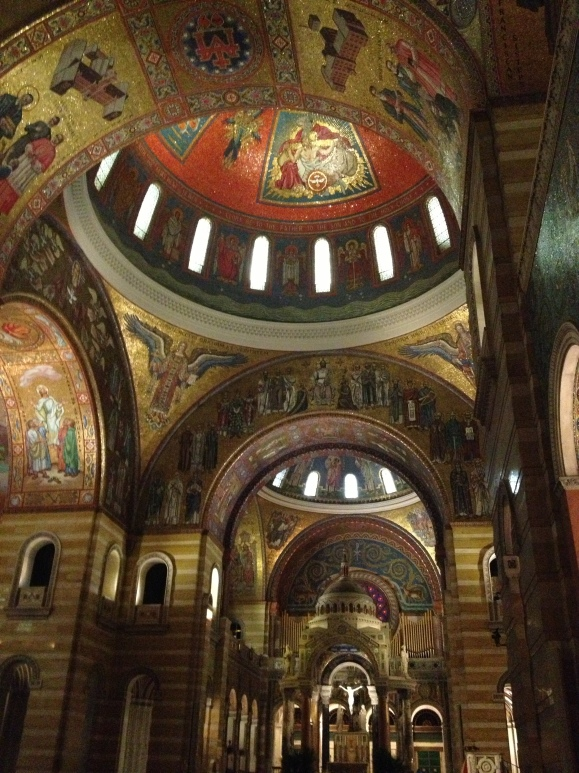 It is regal, holy and magnificent. And I'm not even Catholic!