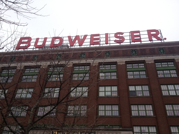 VIP tour of the Budweiser Brewery. Got drunk at 10:30 am. I call that a win.