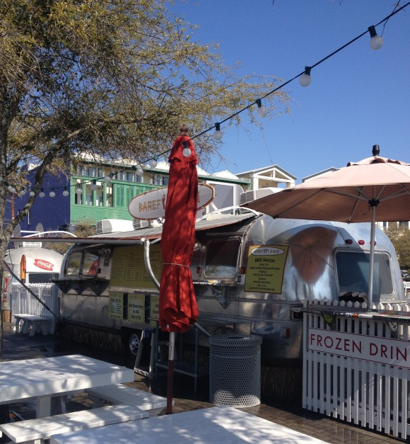 At Seaside, the food trucks are the perfect lunch.